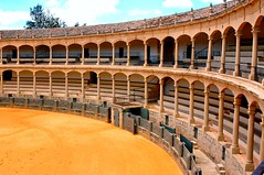 Bullring, Plaza de Toros de Ronda  (Nice Viewed Large) (MarsW) Tags: spain beautifullight andalucia espana ronda baroque goldstar bullring 2010 plazadetoros thephotooftheweek mywinners abigfave anawesomeshot worldicon citrit rubyawards betterthangood everydayissunday perfectphotographer goldstaraward thenforgettablepictures flickrwinnerspain grouptripod plazainfocus2010 plazainfocus
