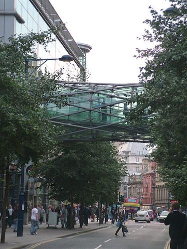Footrbridge, Corporation Street, Manchester
