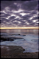Bleached (l plater) Tags: seascape clouds sunrise landscape dawn rocks waves horizon sydney australia hdr northernbeaches roq blueribbonwinner deewhybeach almostanything flickrelite bestofaustralia goldstaraward lplater unlimitedphotos