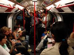 London underground (WOLFE) Tags: london train underground tube full sweaty rush hour cramped