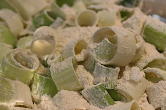 Leek Rings in Dry Mix