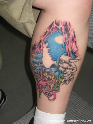 Venom Tattoo at San Jose Super-Con 2008