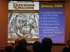 D&D Q&A: January 2009