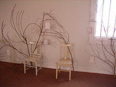 Winter branches (Sarah McNeil) Tags: art illustration drawing ghost exhibition sarahmcneil brunswickbound nearlyeverything