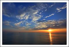 Alba in riviera - Riviera Sunrise (pepe50) Tags: alba portoverde misanoadriatico mare agosto ferie hdr cielo sky italy italia sole sunrise adriatico pepe50 emiliaromagna mywinners impressedbeauty absolutelystunningscapes blueribbonwinner crepuscolo flickrestrellas travel party abigfave canon flickr imac apple mercadder