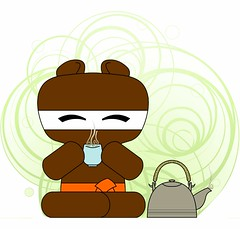 bear-ninja-tea-time