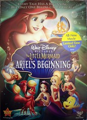 The Little Mermaid Ariel's Begining DVD (Disney Dan) Tags: summer usa film ariel america movie us dvd unitedstates little pentax august disney optio mermaid walt 2008 picnik ariels begining t10 pleasevisitwwwbracelandstk thelittlemermaidarielsbegining