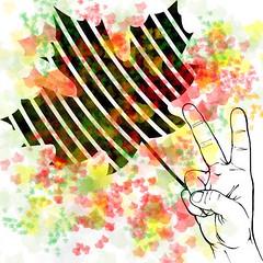 peace_leafs (kurnmit) Tags: peace paz frieden pace paix beke bke