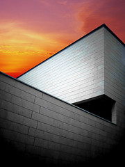 MART Museum (1988, M. Botta) (Martjusha) Tags: sunset italy museum architecture italia contemporary trento architettura mart mariobotta contemporanea botta rovereto avanguardia