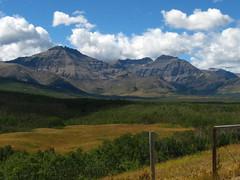 mountains and prairie