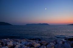 Meis (Melissa Maples) Tags: blue sunset sea moon water night turkey dark island nikon asia mediterranean trkiye aegean creativecommons 1855mm nikkor 1855mmf3556g afs meis  kastellorizo megisti ka dodecanese   f3556g d40  kastelorizo