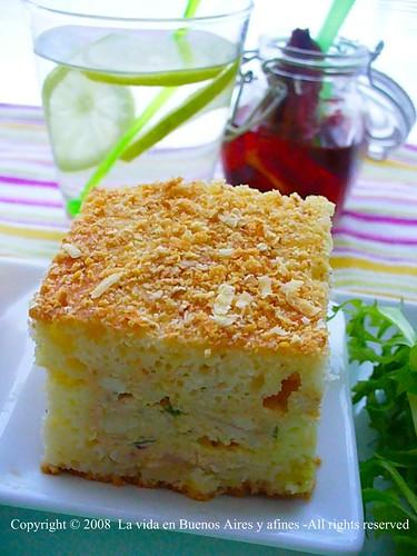 Savory cake