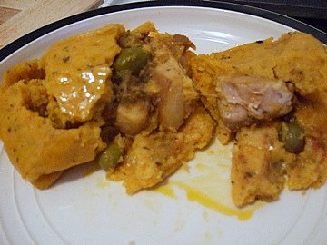 Pork tamale