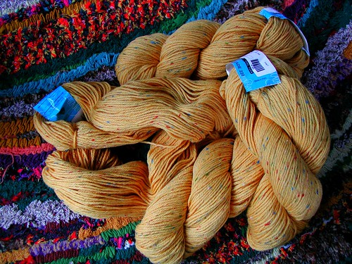 Yummy Yellow Yarn!