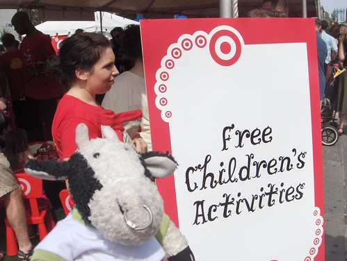 YAYYYYYYYY! FREE little bull activities! Sponsored by Target.