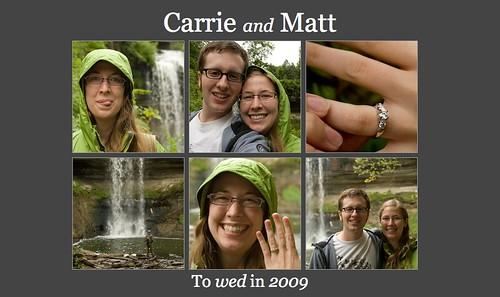 I am engaged.