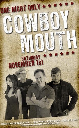 Cowboy Mouth 11/1