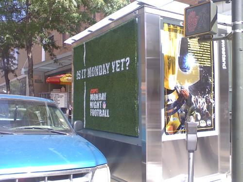 MNF OOH near ESPN's ofc