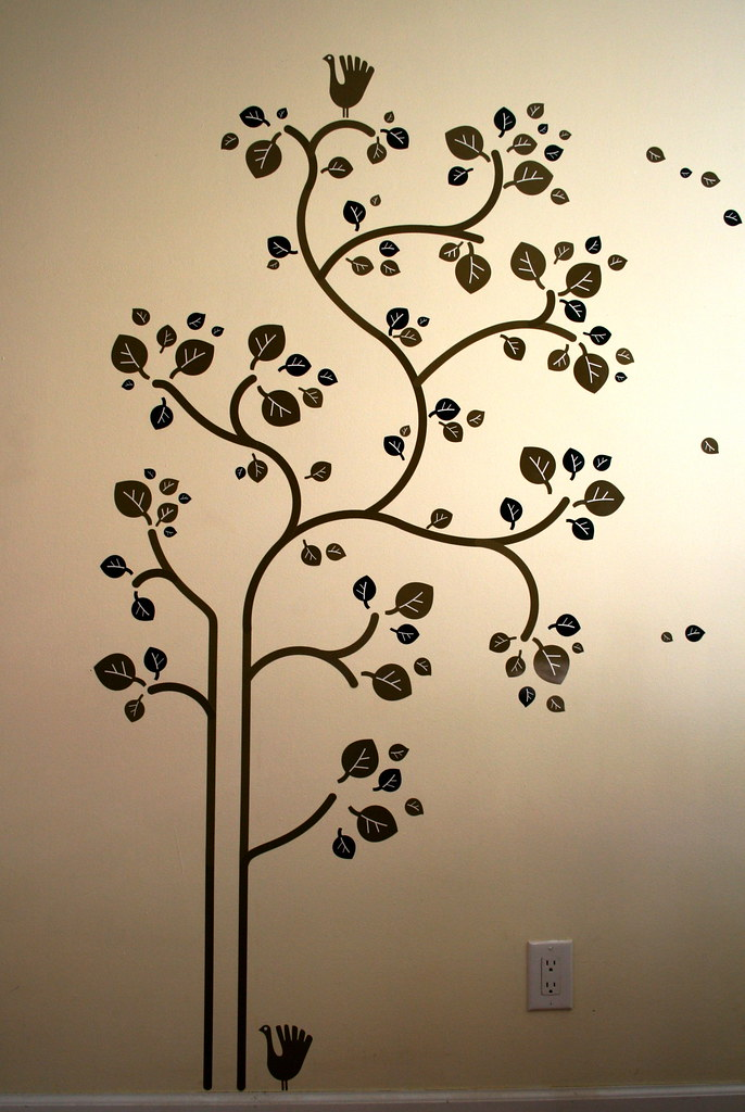 IKEA Slätthult Folk Tree - Wall Decals