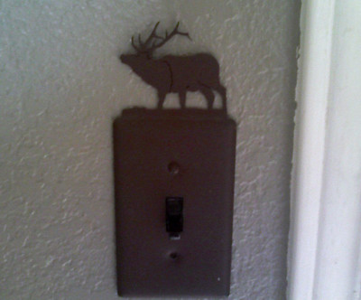 Deer Light Switch Plate...
