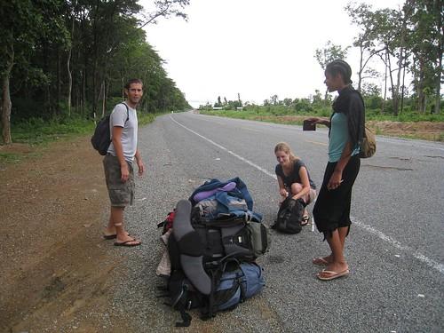 No man'sland - between the Cambodia/Laos border