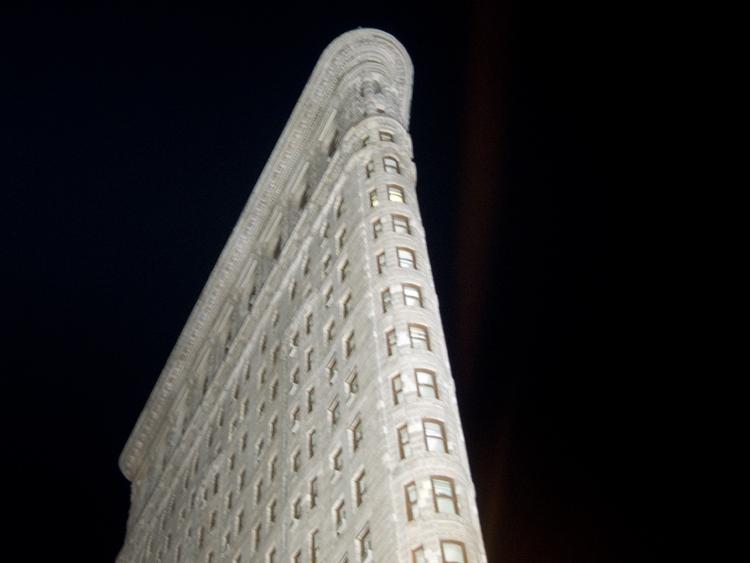 flat iron building, ny