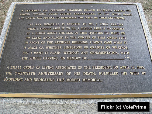 FDR Placque Text_Flickr_Voteprime