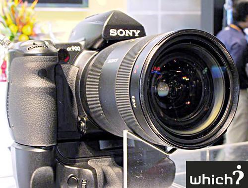 CEATEC 2008 - Sony Alpha 900 DSLR