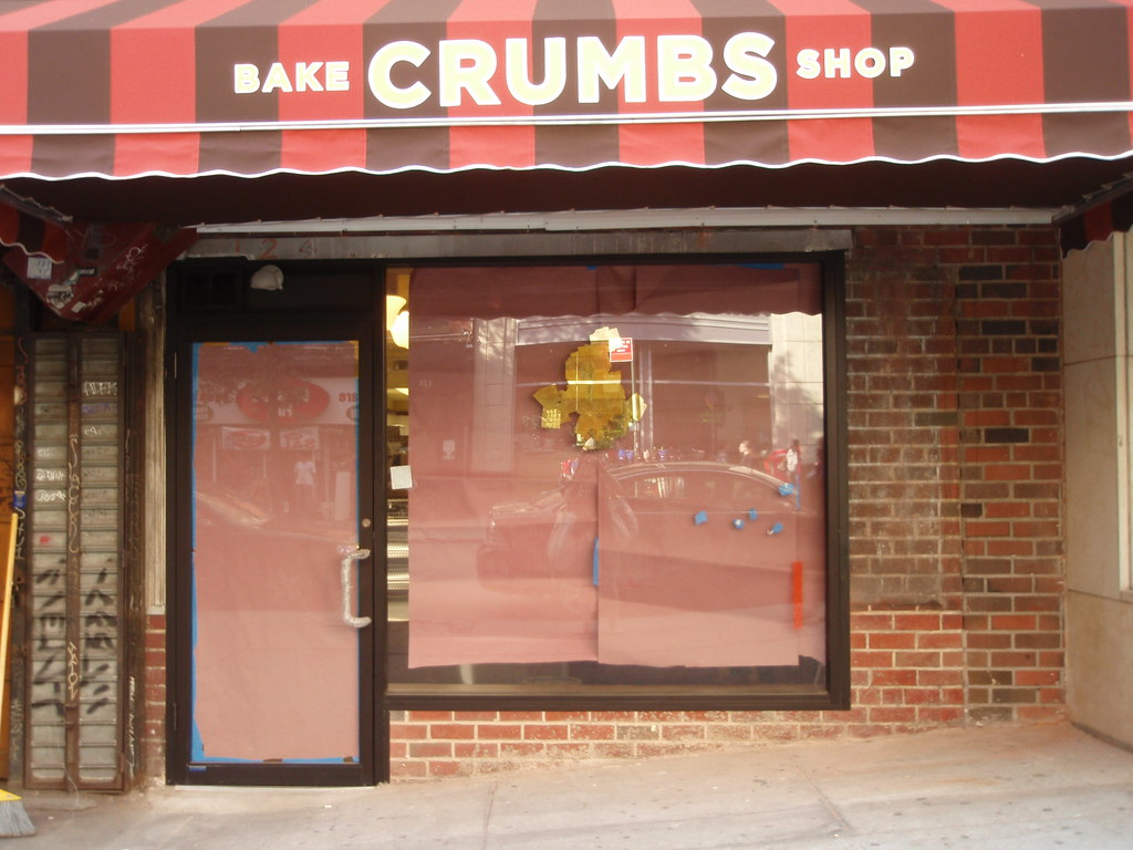 Newest Crumbs opening 10/10 at 124 University Place, NYC
