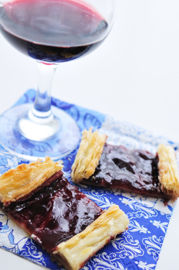 Red Wine Tart