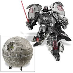Darth Vader Death Star Transformer
