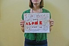 I am Afraid of Being Alone My Whole Life (Brynn Smith) Tags: life blue red green yellow alone secret fear navy scribbles afraid scared brynn