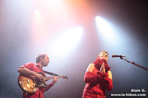 Clare & The Reasons @ La Cigale (Fargo All Stars), Paris | 07.10.2008