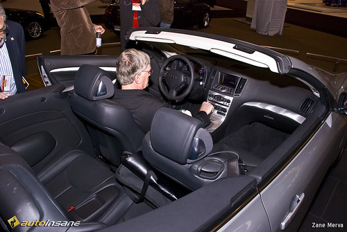 infiniti g37 convertible interior. 2008 ne auto show infiniti g37 convertible interior t