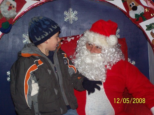 Jacob and Santa