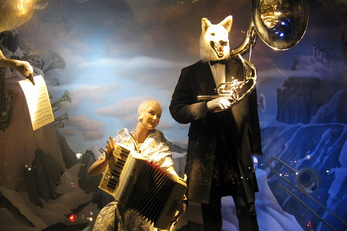 NYC: Bergdorf Goodman's 2008 Holiday window display