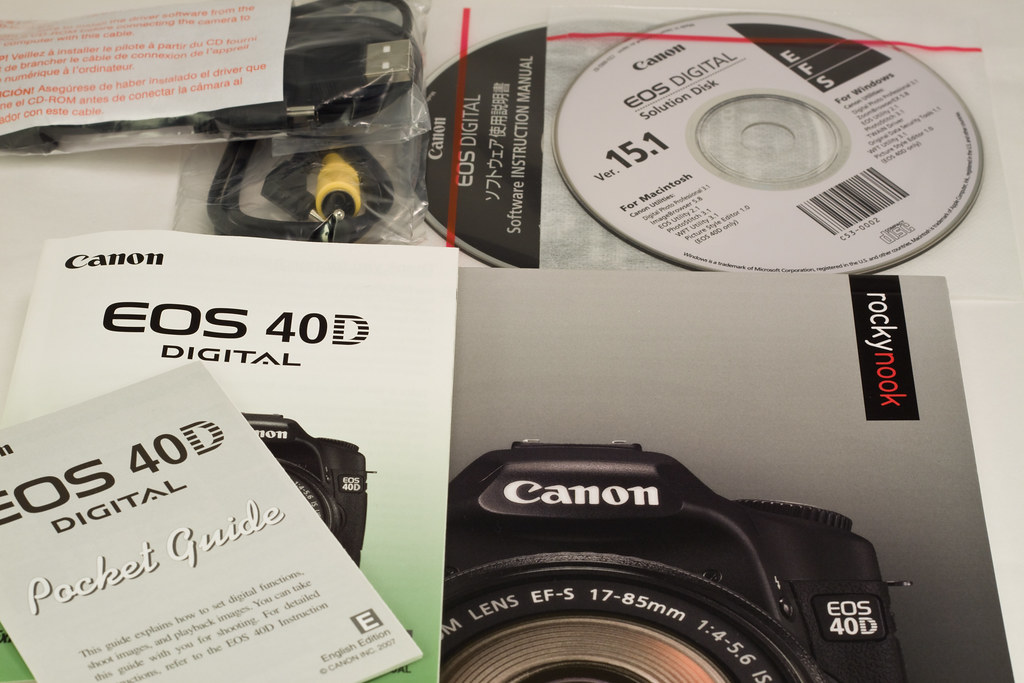 Canon 40D Kit For Sale