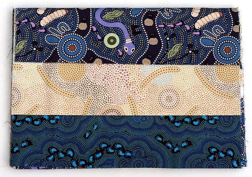 Aboriginal print fabric