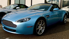 Aston Martin V8 Vantage Roadster (Austin H.) Tags: white black silver cherry grey am colorado metallic denver british v8 astonmartin roaster volante astons classy lightblue dbs darkred v12 db9 v8vantage sportspackage glacialblue astonmartinofcolorado