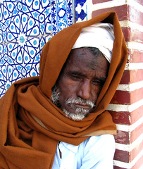 LIGHTLESS EYES (smrafiq) Tags: life old pakistan portrait man art portraits eyes asia strong karachi discovery sufi sindh cultural thatha smrafiq