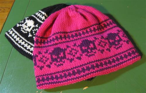 Ravelry Skull Hat Pattern By Gina Doherty