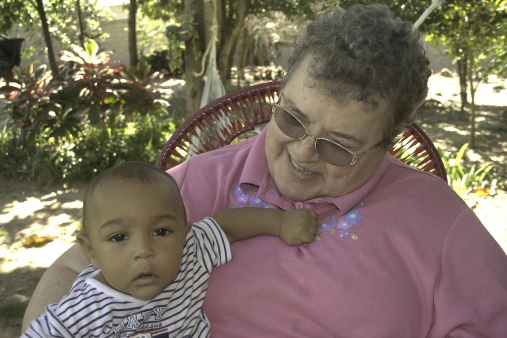 Mom and Jose Ignacio