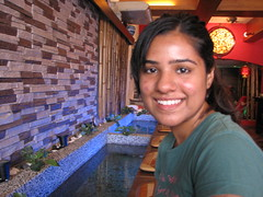 me in fish spa finally..yay