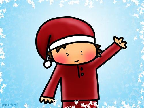 navidad postal felicitación