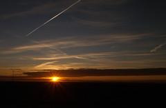 A Wish Came True (Kirsten M Lentoft) Tags: sunset sky sun silhouette clouds denmark soe takeabow naturesfinest bej theunforgettablepictures herstedhøje kirstenmlentoft