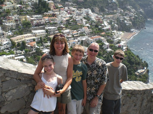 The Hallers on the Amalfi Coast