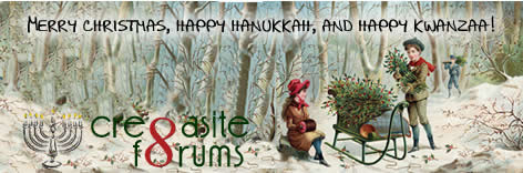Cre8asite Forums Holiday Logo