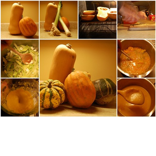 7 days: Day 4 - Butternut Squash Soup