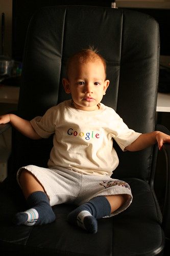 Google Appoint Toddler as new Director of Search Engine Operations