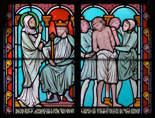 010- Vitral nº 10 claustro de Notre Dame de Paris